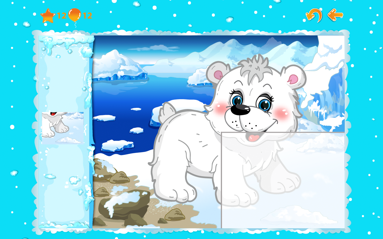 Animal puzzles for toddlers 1+ screenshot #5
