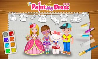 Screenshot of Coco Paint My Dress