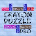 Crayon Puzzle Pro icon