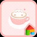 cat latte dodol theme icon