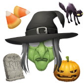 Aviary Stickers: Halloween