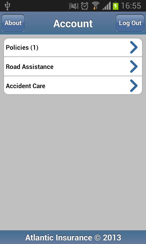 Atlantic Insurance- screenshot