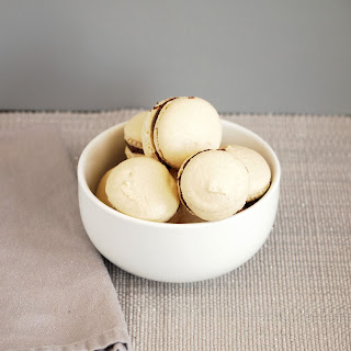 Almond Macarons with Chocolate Ganache