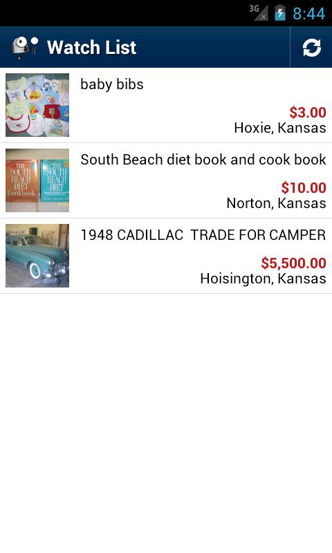 TCT Classifieds- screenshot