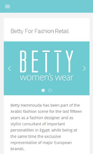 Betty For Fashion Wear