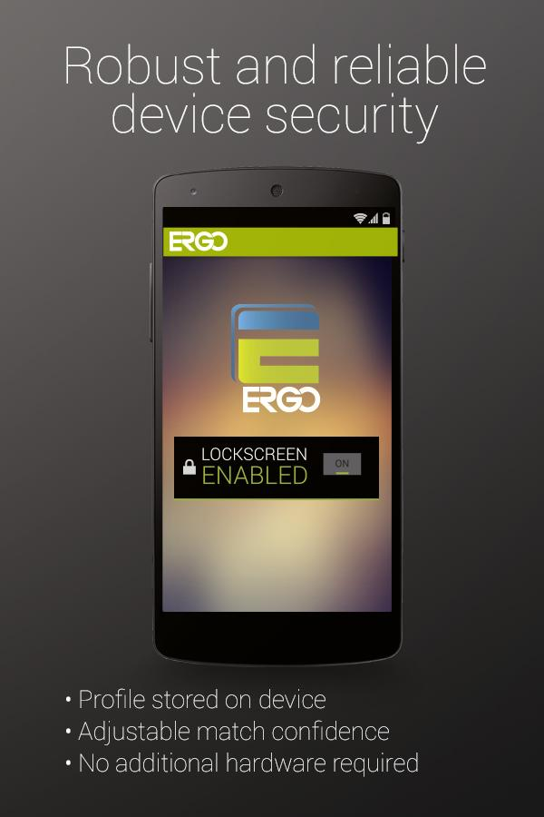 ERGO - screenshot