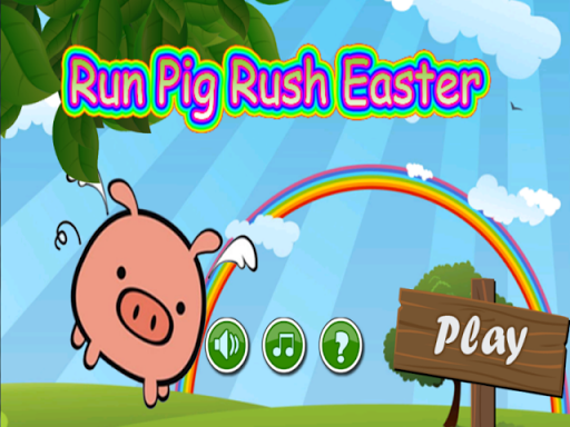Run Ravine Pig Rush Easter