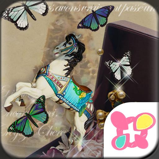 Butterflies Theme-Antique Box- Icon