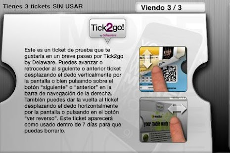 Tick2go by Delaware - screenshot thumbnail