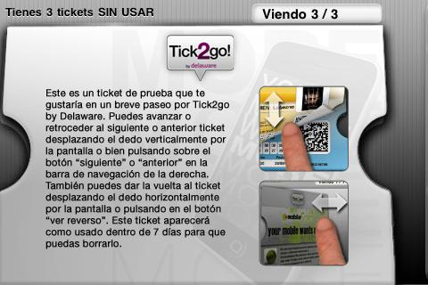 Tick2go by Delaware - screenshot