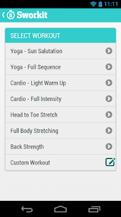 Sworkit - Circuit Training - screenshot thumbnail