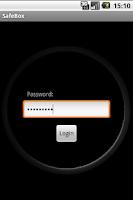 Screenshot of SafeBox