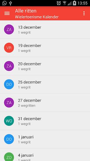 Wielertoerisme kalender