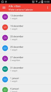 Wielertoerisme kalender - náhled