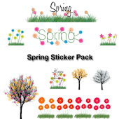 Spring Sticker Pack