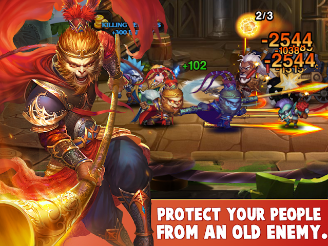 android Heroes Charge HD Screenshot 4