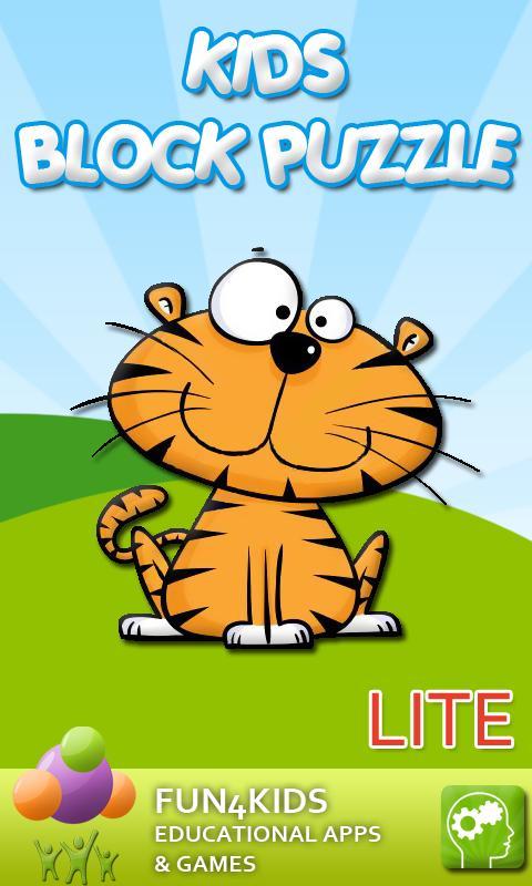 Kids Block Puzzle Game Lite- screenshot