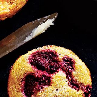 Raspberry-Cornmeal Muffins