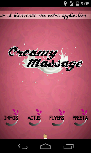 Creamy Massage