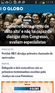 O Globo Notícias- screenshot thumbnail