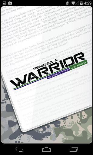 Peninsula Warrior