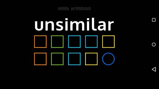 Unsimilar
