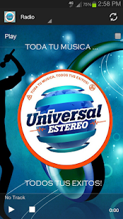 Universal Estereo- screenshot thumbnail