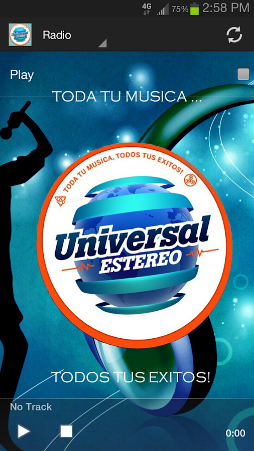 Universal Estereo- screenshot