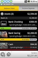 Screenshot of FinanTrak