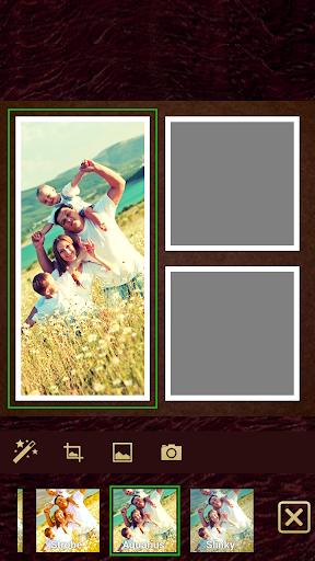Retro Grid - Photo Collage