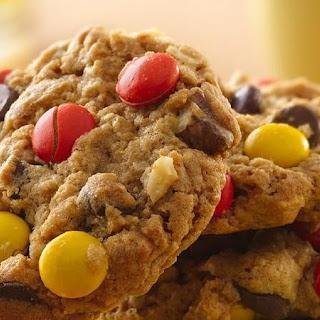 Jumbo Chocolate-Peanut Butter Oat Cookies