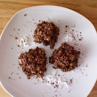 Chocolate Oatmeal Coconut Candies (Chocolate Haystacks).