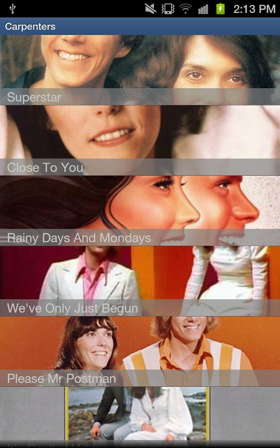 The Carpenters - screenshot