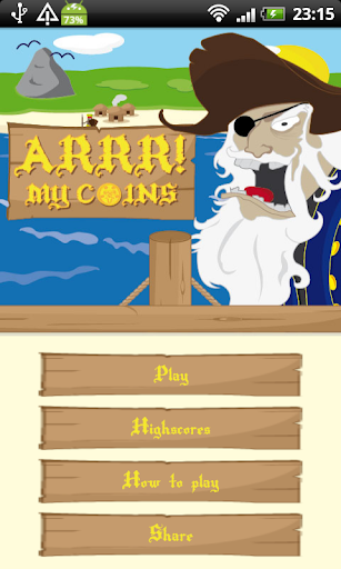 Arrr my coins Pirate Game