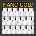 Piano Gold GO Keyboard Theme icon