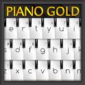 Piano Gold GO Keyboard Theme icon