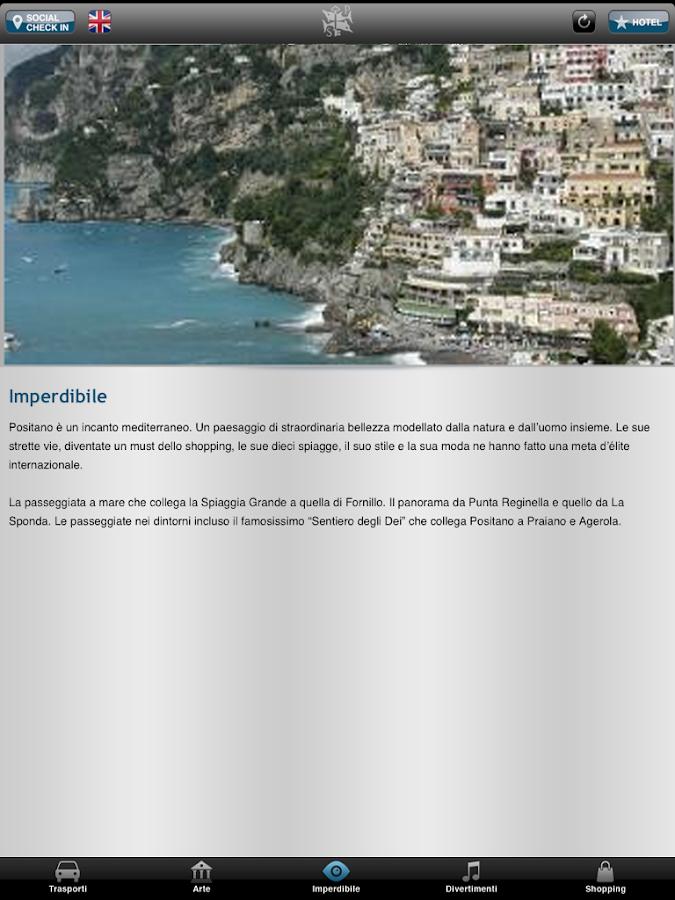 Il San Pietro di Positano- screenshot