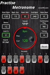 Practise Metronome- screenshot thumbnail