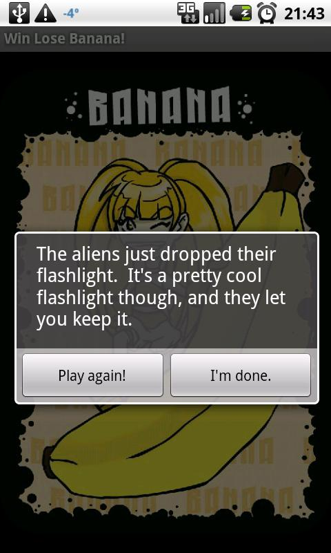 Win Lose Banana! - screenshot