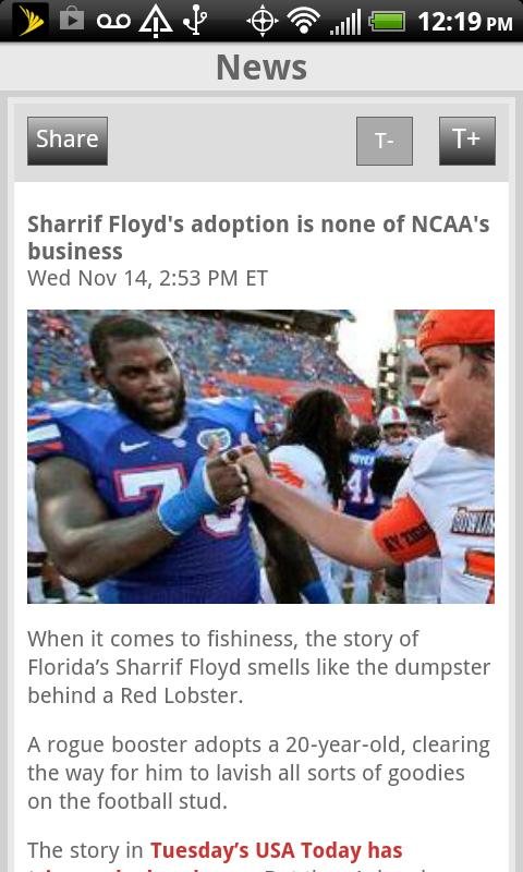 Sporting News NCAA Football - screenshot