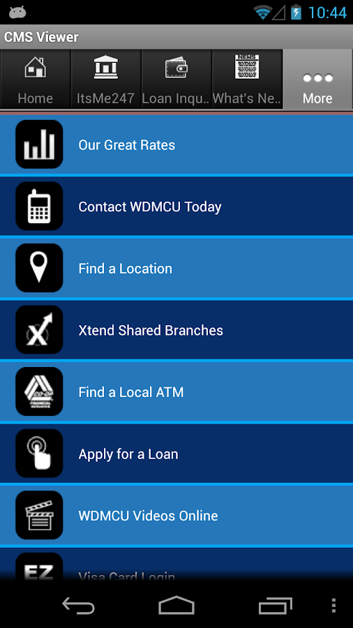Western Districts Members CU - screenshot