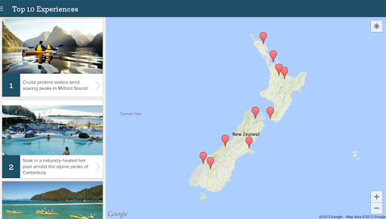 Essential New Zealand Travel - screenshot thumbnail