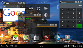 Screenshot of Mini Floating Apps (Free)
