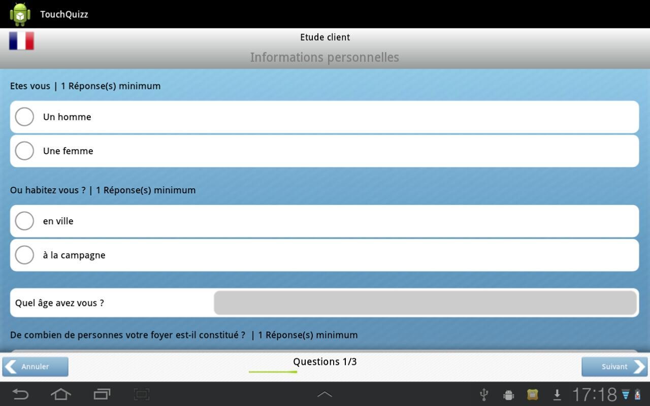 TouchQuizz- screenshot