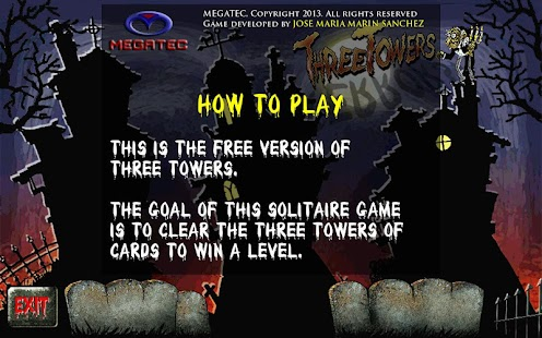 Three Towers Solitaire Free - screenshot thumbnail