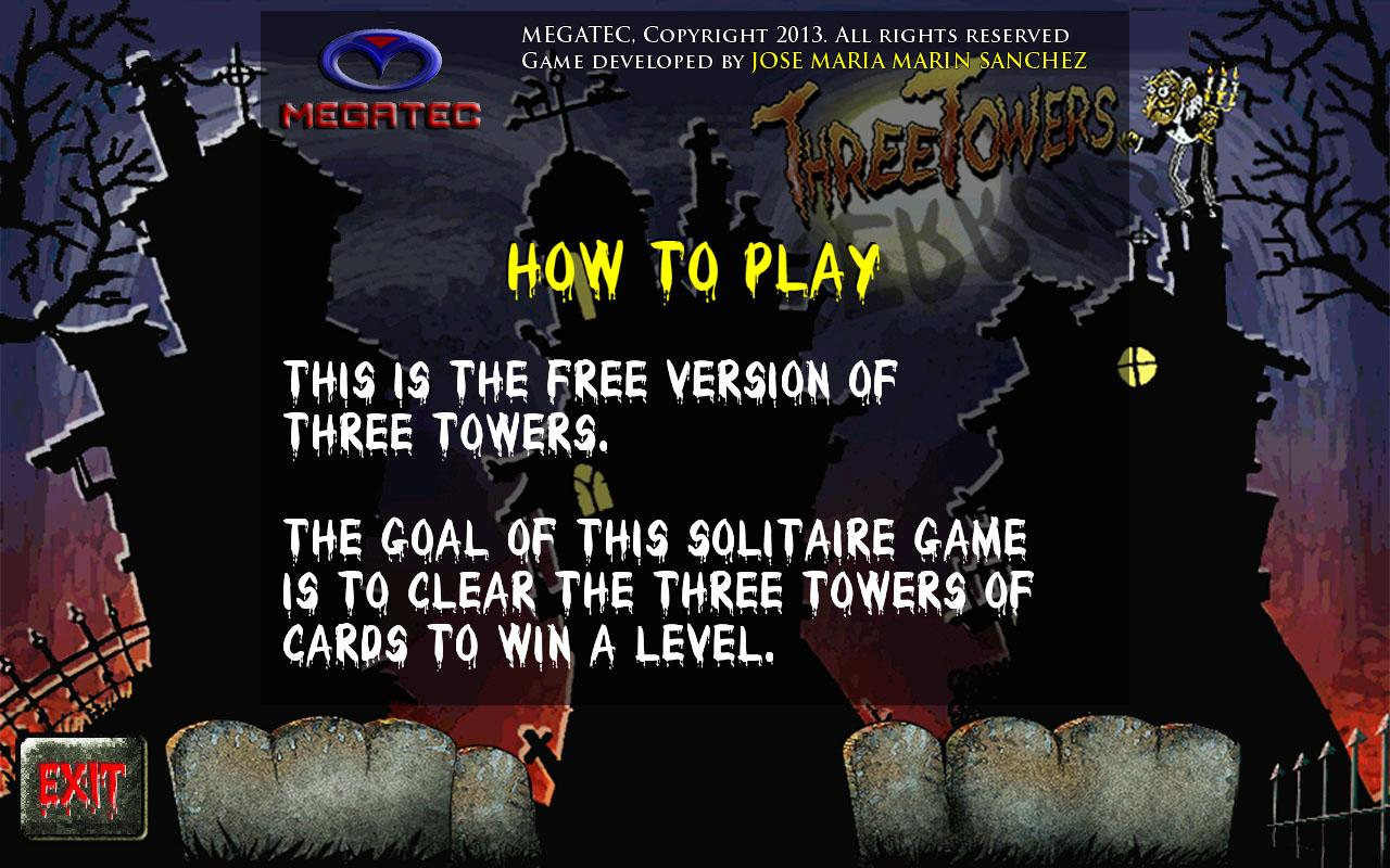 Three Towers Solitaire Free - screenshot