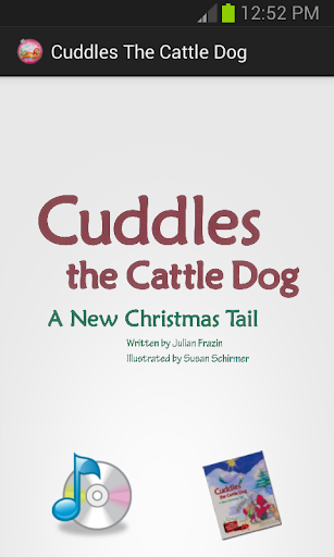 Cuddles the Cattle Dog