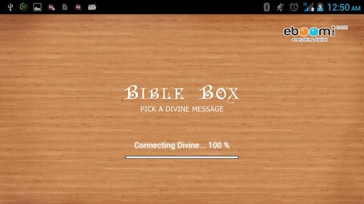 Bible Box - FREE