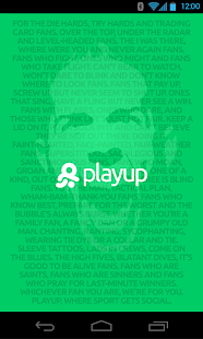 PlayUp - screenshot thumbnail