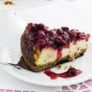 Cranberrycheesecake